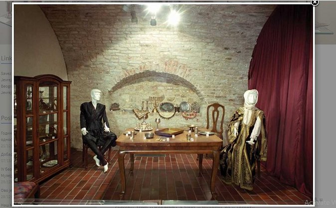 Jewish heritage tour in Belgrade
