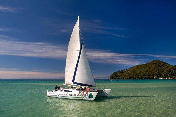 Sailing the National Park coastline