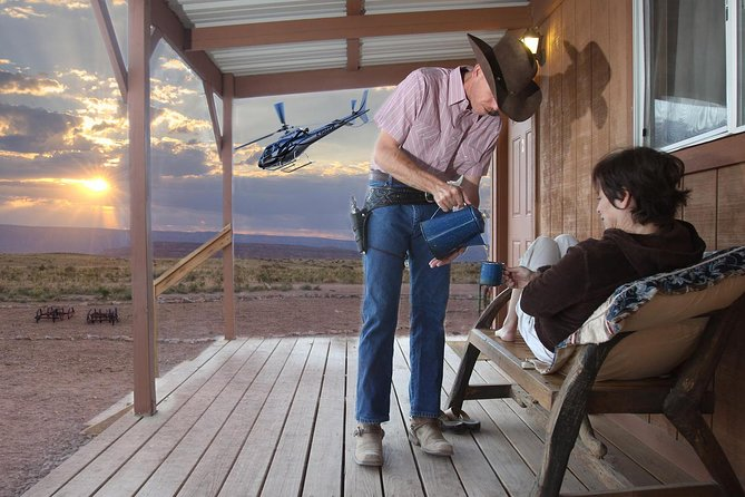 Grand Canyon West Rim Cabin and Helicopter Tour from Las Vegas