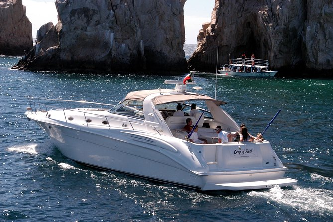 Private Luxury Sea Ray Yacht at Cabo San Lucas