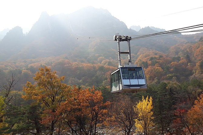 Mount Seorak and Nami Island Day Trip from Seoul