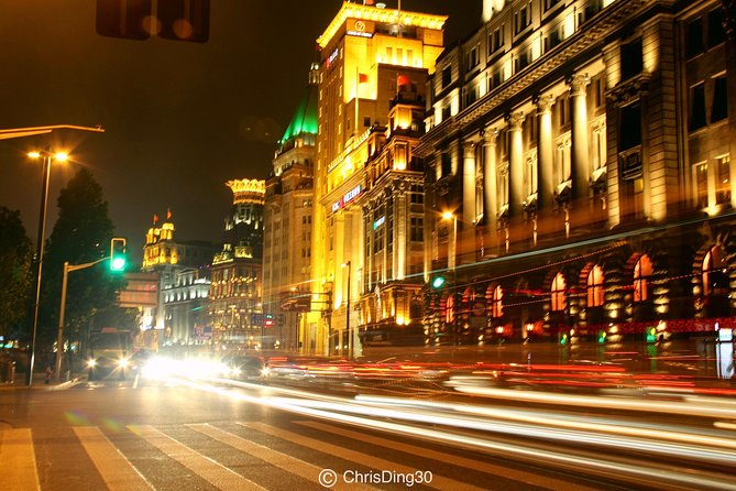Shanghai's Night-Private tour with night cruise and panoramic view of the city