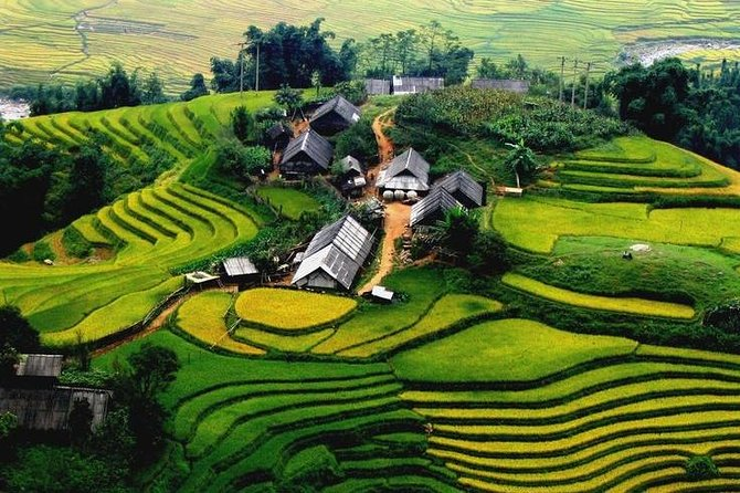 Mai Chau Full-Day Tour from Hanoi join in small group tour with lunch