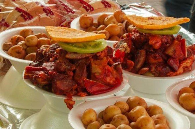 Excursão pelas comidas e mercados locais de Bogotá