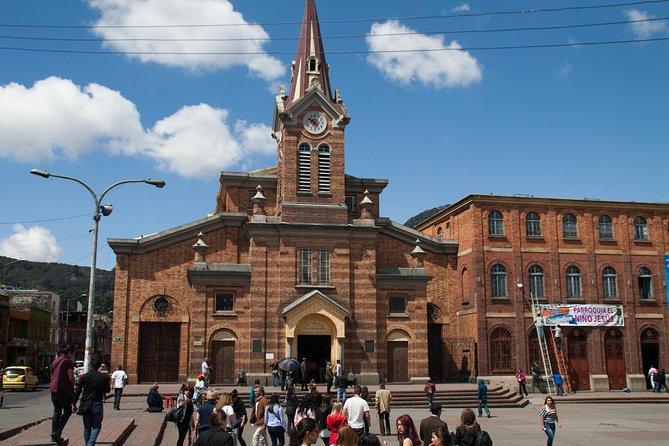 5-timers Legacy Churches privat tur i Bogota med transport