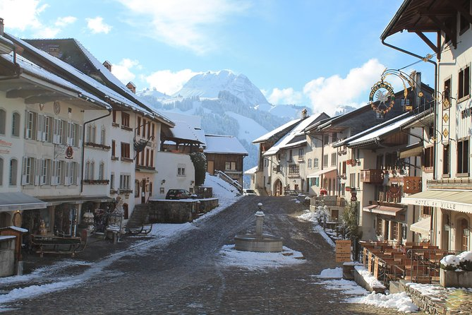 Winter ski tour: Gruyeres gastronomy tour