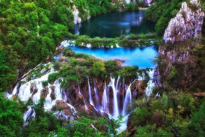 Split to Zagreb with Plitvice Lakes Tour