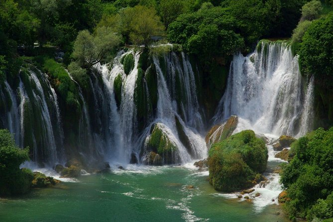 Private Tour from Dubrovnik: Kravice Waterfalls, Mostar and Pocitelj