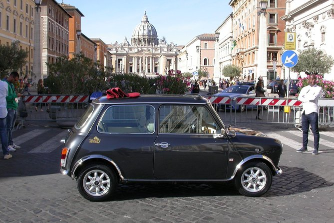Tour of the Most Beautiful Churches by Mini Vintage Cabriolet
