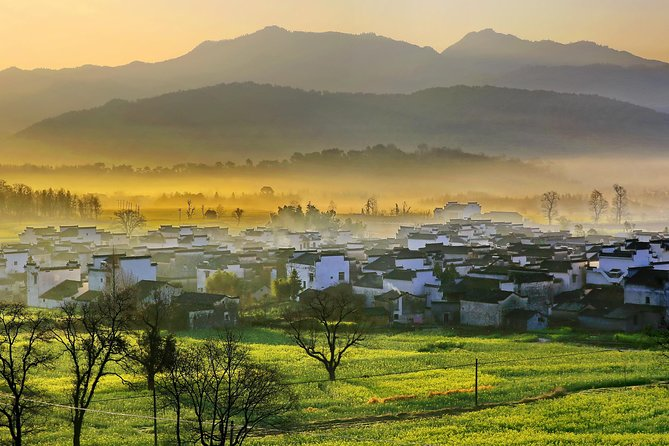 Private 4-Day Tour to Mount Huangshan, Hongcun and Tangyue with Accommodation