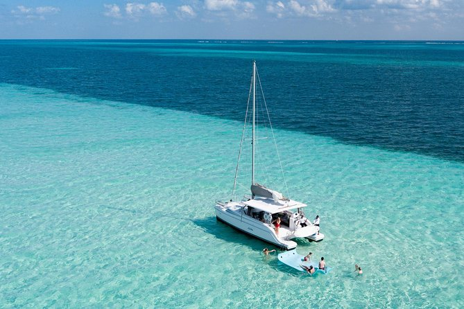 Puerto Morelos Catamaran Secret Sandbar Sail
