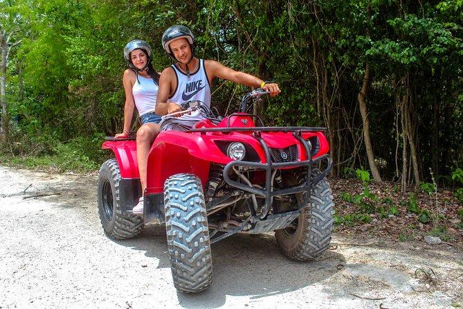 ATV AND CENOTE SWIM FROM PLAYA DEL CARMEN