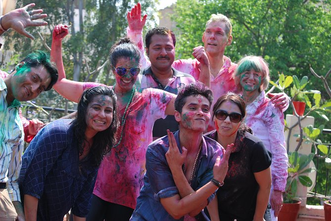 Celebrate Holi with a Local Indian Family in Delhi