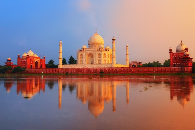 Historical Agra Day Tour: Taj Mahal Sunrise, Agra Fort and Baby Taj