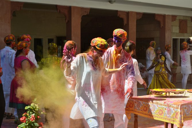 Celebrate Holi with an Indian Family in Jaipur