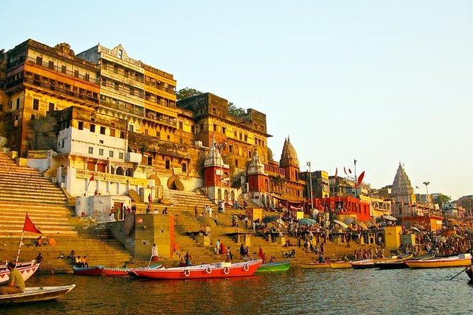 Private 3-Day Varanasi City Tour: Rickshaw and Boat Ride Including Ganga Aarti