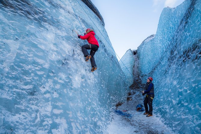 Glacier Hiking and Ice Climbing Small-Group Adventure