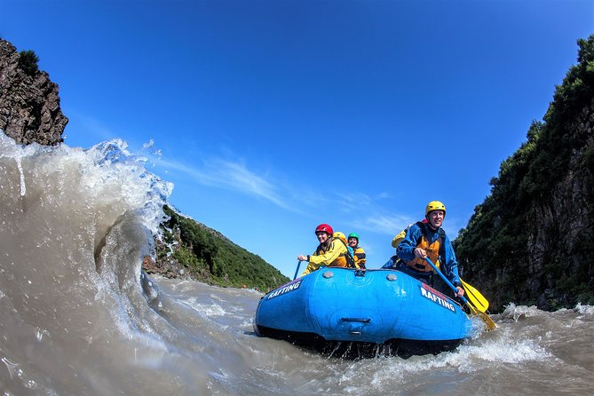 Golden Circle and River Rafting Adventure from Reykjavik