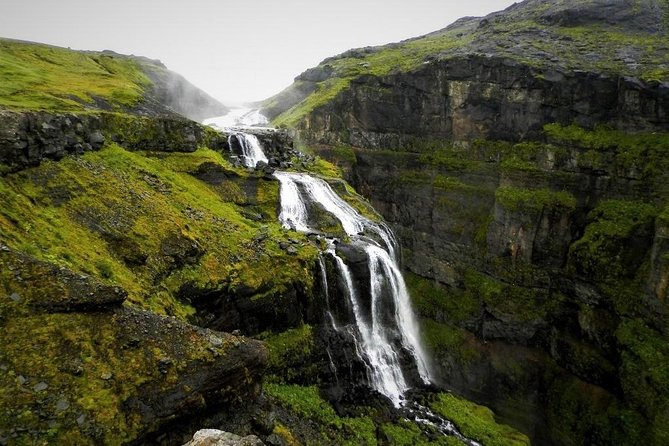 Hiking Trip to the Top of Iceland's Highest Waterfall Glymur from Reykjavik