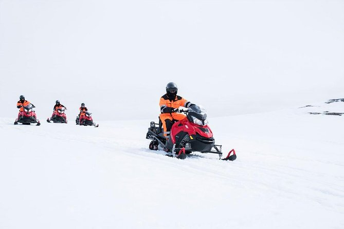 Snowmobiling on Langjökull Glacier with Pickup from Gullfoss Waterfall