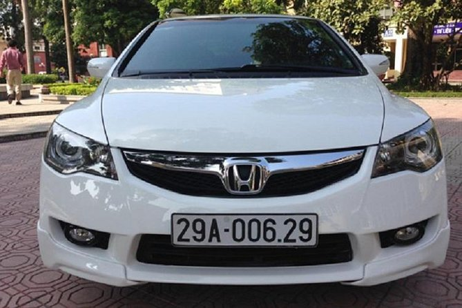Hanoi central private transfer to NoiBai airport with luxury car4seat from Hanoi