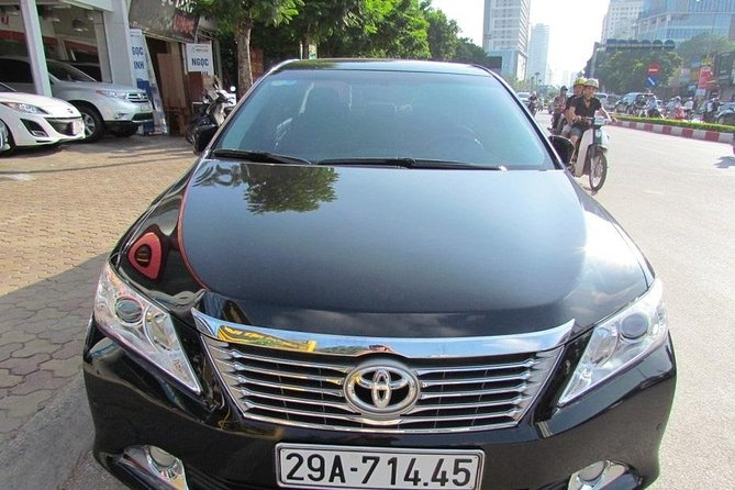 Ha Long Bay private transfer to Noi Bai Airport Luxury car 4-seat from Ha Long