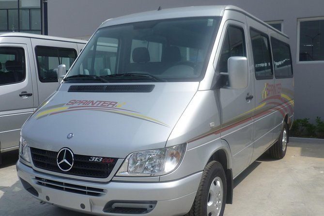 Ha Long Bay private transfer to Noi Bai Airport Luxury car 16-seat from Ha Long