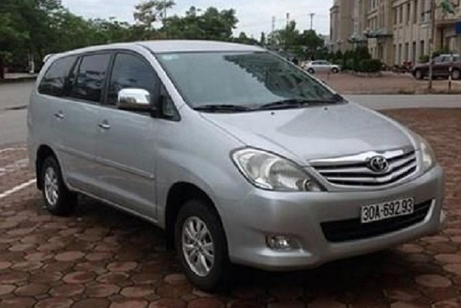 Hanoi private transfer to NinhBinh HoaLu TamCoc with luxury car 7seat from Hanoi