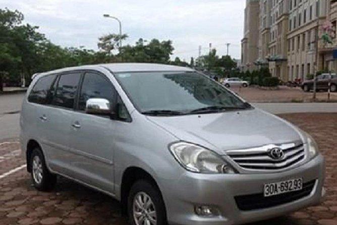 Hai Phong airport transfer to Halong Bay with private car 7 seat from Hai Phong