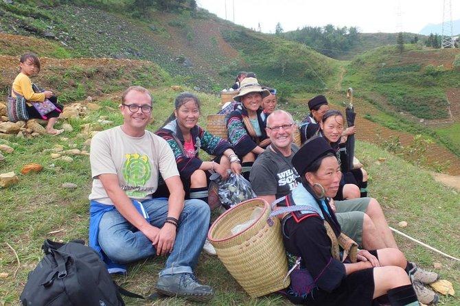 Sapa Trek Group Tour 3days by Bus from Hanoi with 1 night hotel&1 night homestay