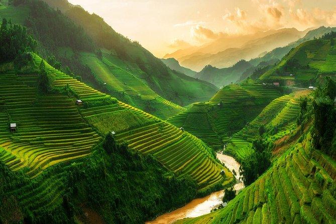 Sapa trekking group tour 3 days - train and bus from Hanoi - hotel&homestay