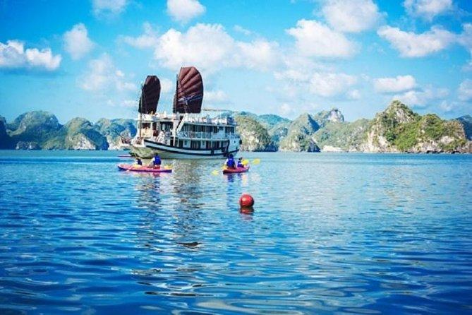 Hanoi to Halong, Cong Dam, Bai Tu Long Bays 2-Night Boat Trip