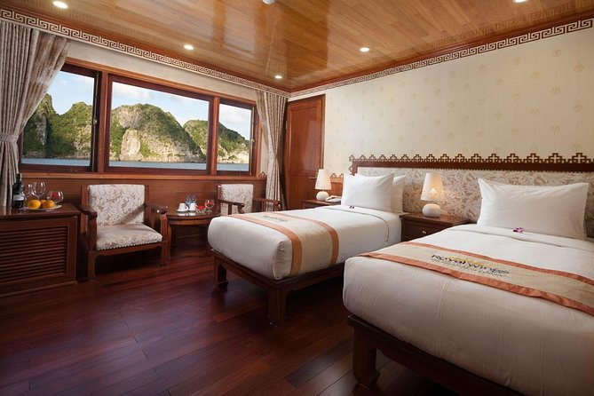Halong Royal Wings Cruise 3days 2nights visit Cong Do Cap La Vung Ha from Ha Noi