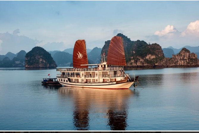 Halong Glory Legend 3 Days 2 Nights visit Titov cave depart from Hanoi
