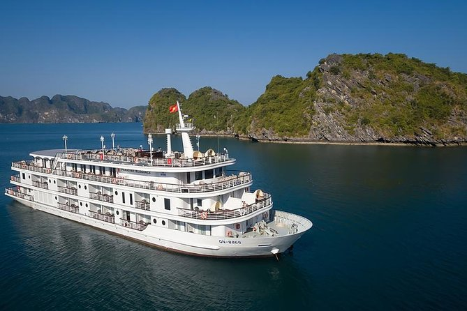 Halong Paradise Elegance 5-star cruise 3 days 2 nights depart from Hanoi