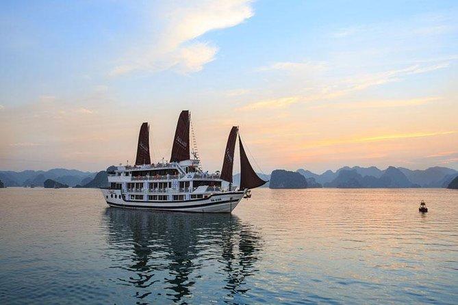 Halong Aclass Stellar Cruise 3 days 2 nights visit Cua Van Floating from Hanoi