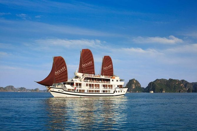 2-Day Halong Bay, Surprising Cave and Titop Island Cruise from Hanoi