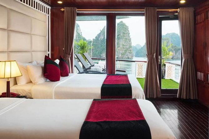 3 Day Bai Tu Long bay-Ha Long bay overnight 2 nights on 4 star cruise from Hanoi