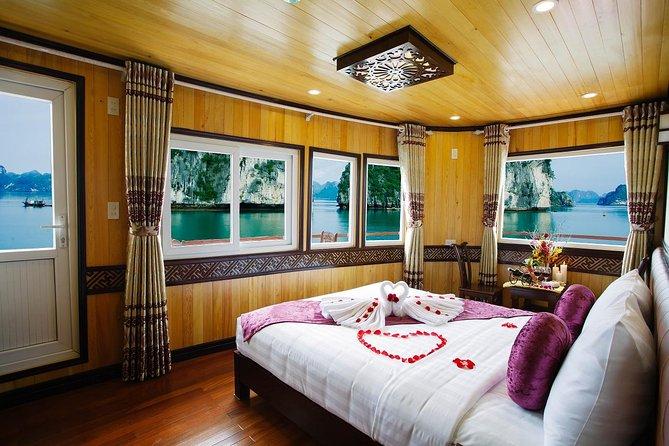 Ha Long Cristina Cruise 2day 1night visit Bai Tu Long bay from Ha Noi
