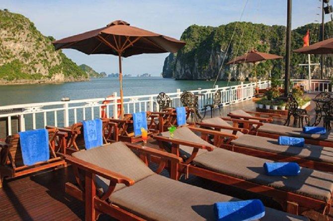 Ha Long Garden Bay Cruise 2 days 1 night visit Bai Tu Long Bay from Ha Noi