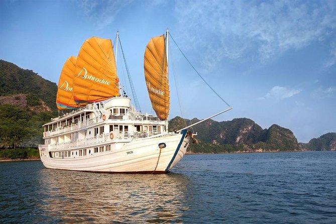 Aphrodite Cruise Ha Long 3 Days 2 nights depart from Ha Noi