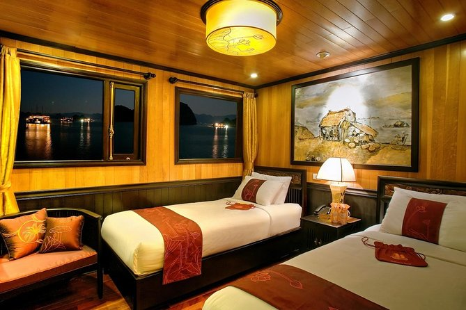Indochina Sails Junk Cruise Ha Long 3 days 2 nights depart from Ha Noi