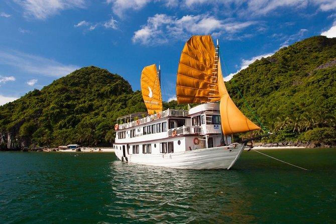 Ha Long Phoenix Cruise 2 Days 1 Night cruise depart from Ha Noi
