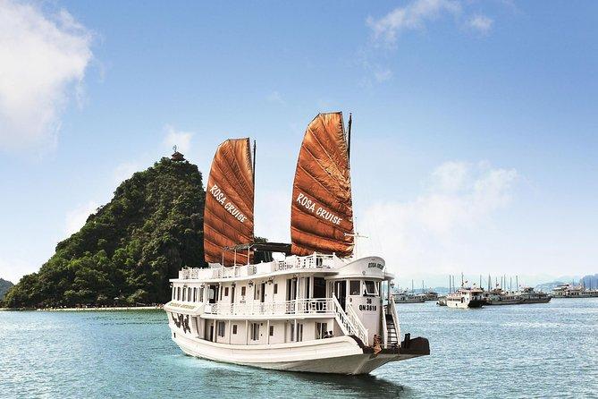 Combo package Ha Noi Tirant hotel Ha Long Rosa Cruise 5 days 4 nights