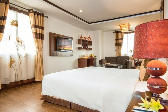 Combo package Ha Noi May de Ville Ha Long Rosa Cruise 5 days 4 nights