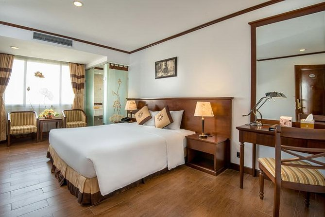Combo package Ha Noi May de Ville Ha Long Athena Cruise 5 days 4 nights
