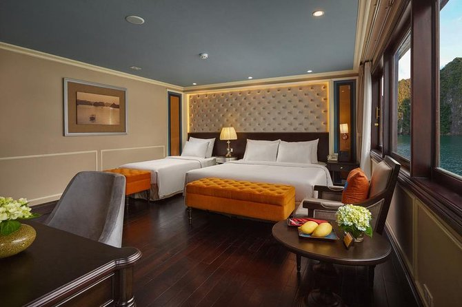Combo package Ha Noi May de Ville Ha Long Athena Cruise 4 days 3 nights
