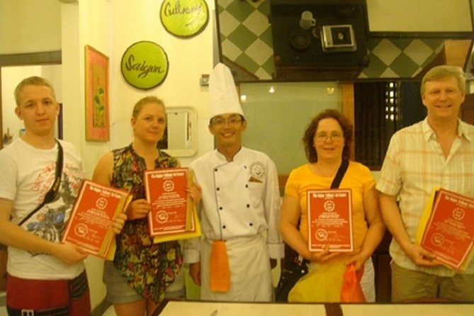 Daily Initiation Sai Gon cooking class depart at Ho Chi Minh city