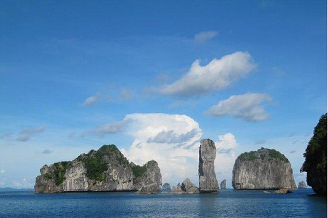 Lan Ha Bay Ha Long Bay Bai Tu Long Bay Kayaking 3 days 2 nights from Cat Ba