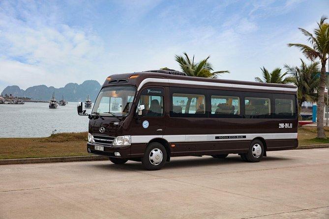 Rosa Eco Bus Luxury Transfer Ha Long to Ha Noi